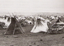 Red River Aboriginal Encampment