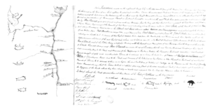 Selkirk Treaty, signed in 1817 – Credit Archives of Manitoba