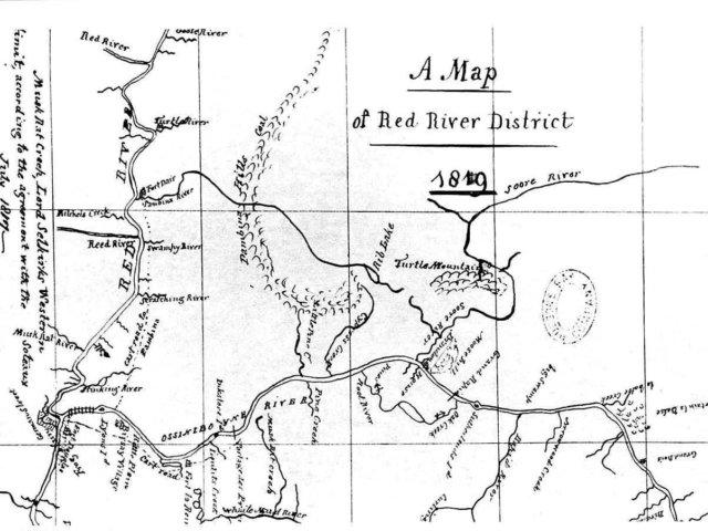1819 Fidler Map