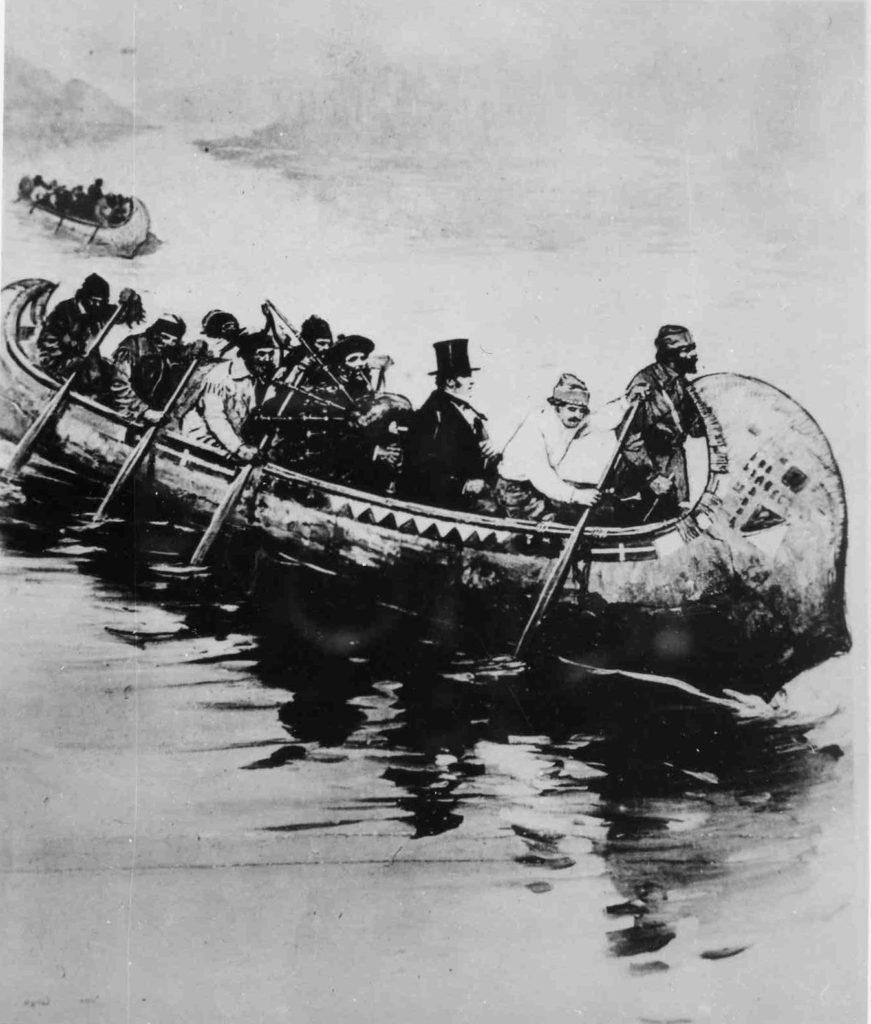 1850s Fur Trade Canoe