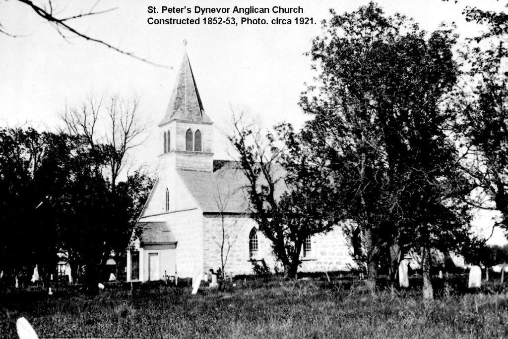 1853 St Peters Anglican Church photo c1921