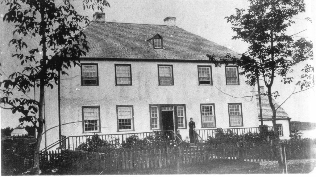 Hawthorne Lodge built 1858