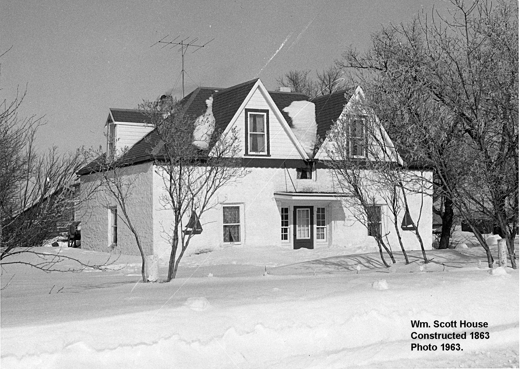 1863 Scott House photo 1963