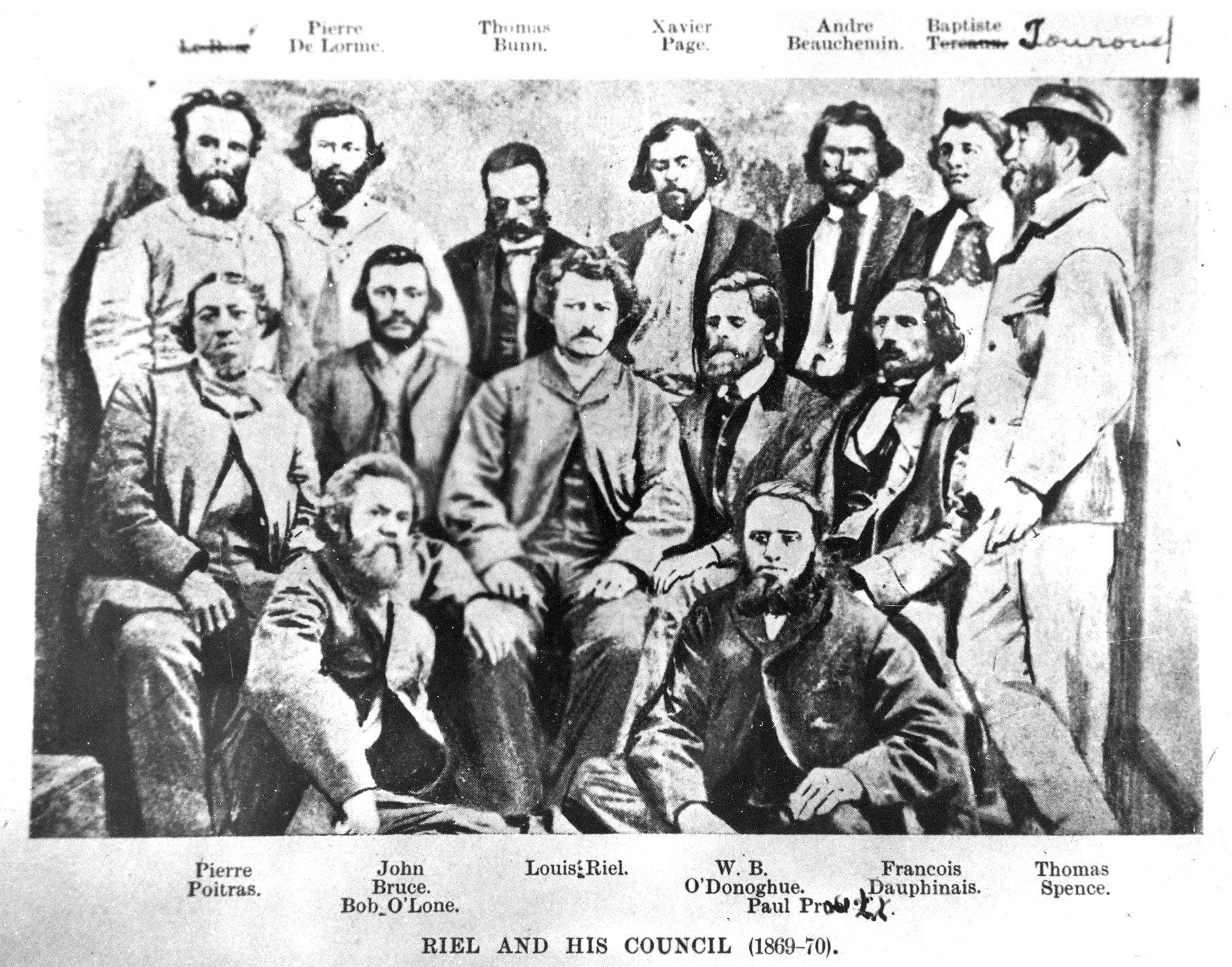 1870 Riel Provincional Govt council 01
