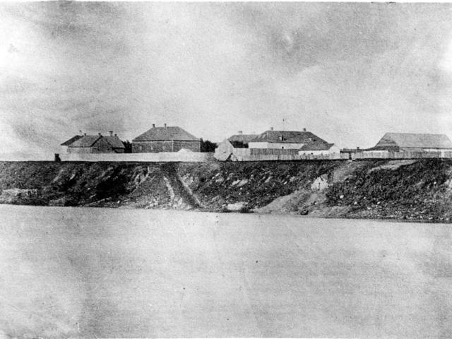 1870c Lower Fort Garry