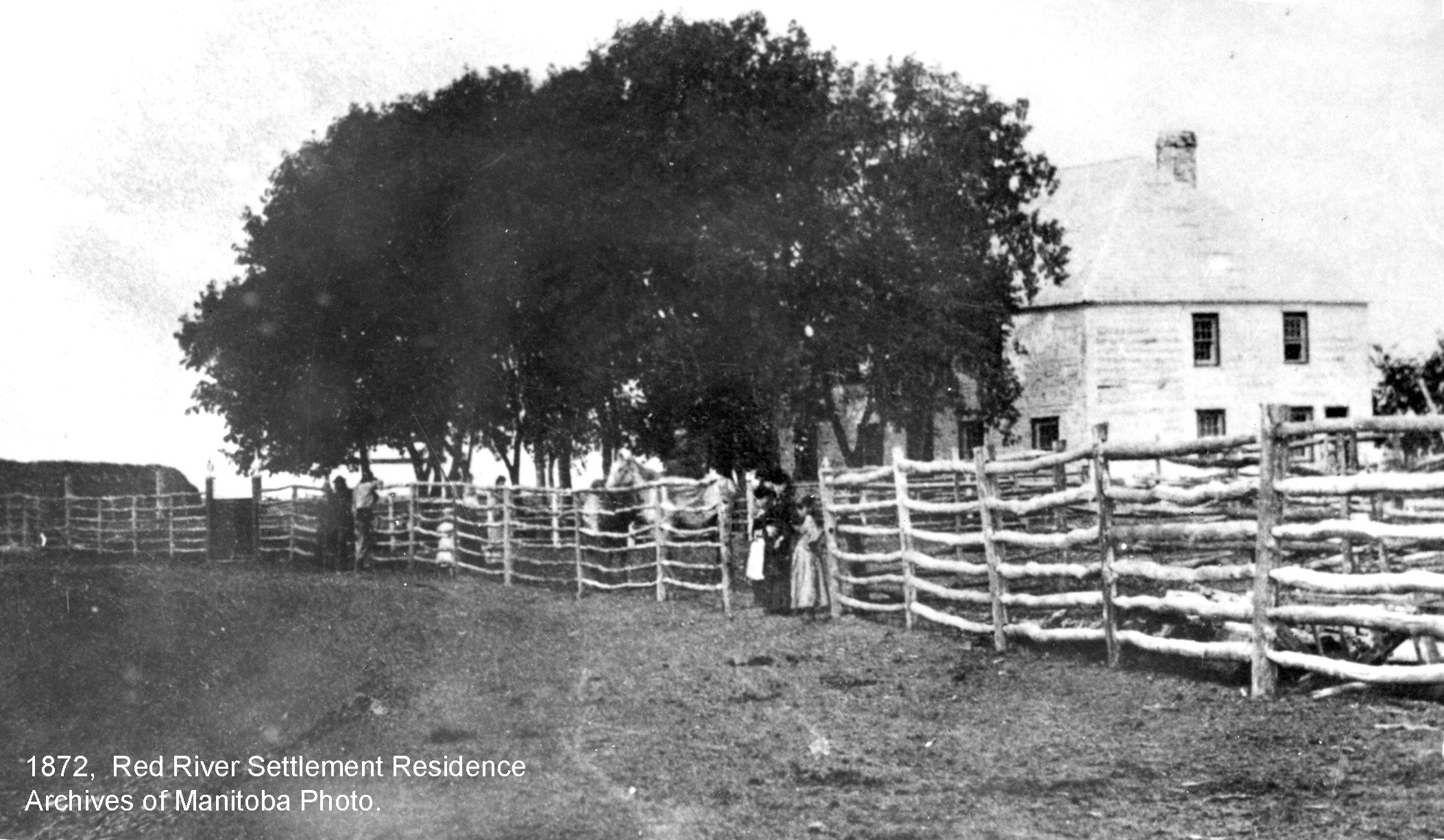 1872 old Red River Settlement residence