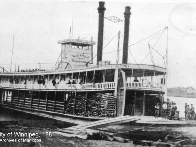 1881 City of Winnipeg at Grand Valley