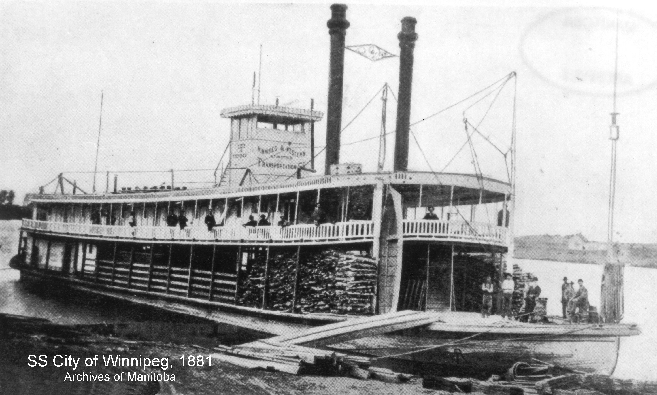 Ferries and Boats Photo Gallery - Red River North Heritage
