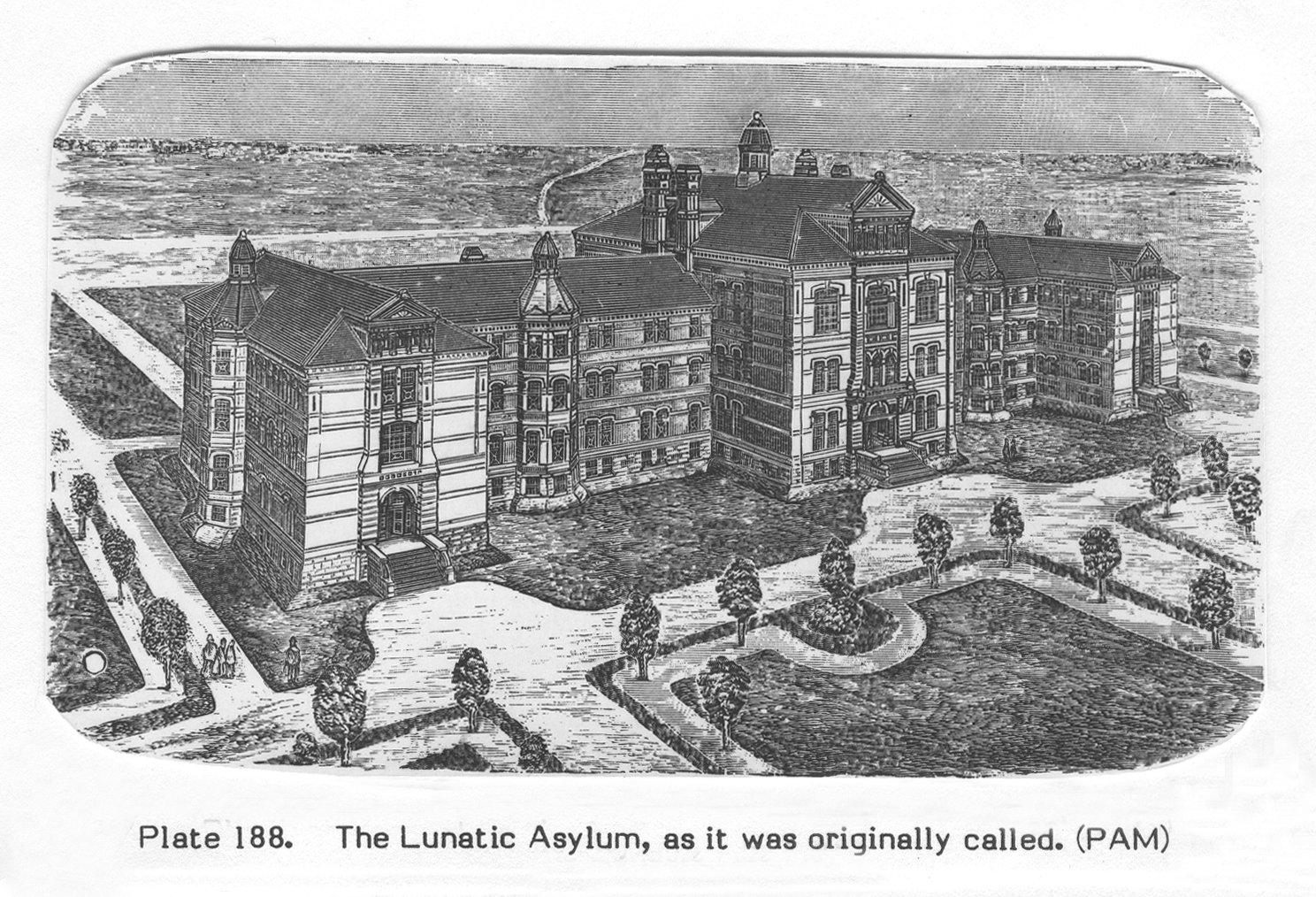 1895 Selkirk Lunatic Asylum