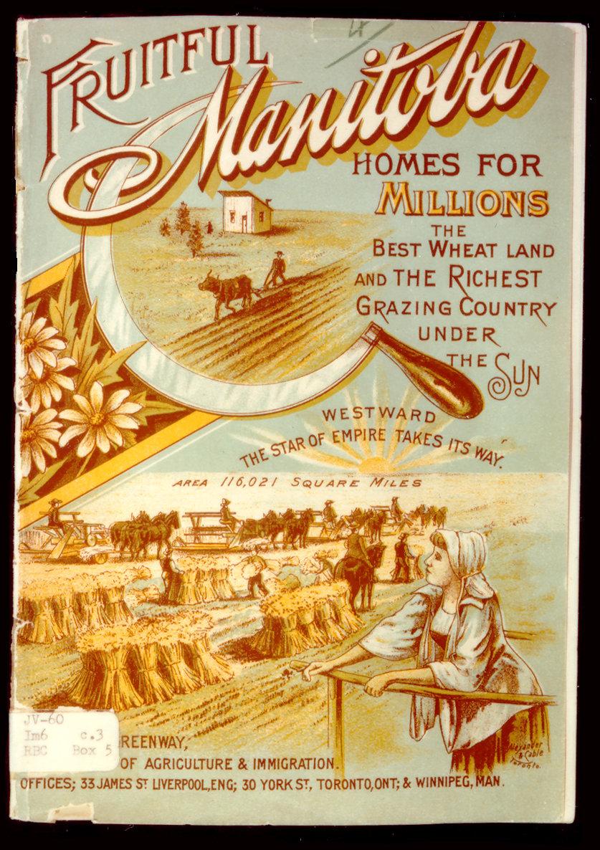 1900 immigration colour pamphlet