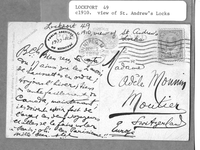 1910c Back of Locks Postcard 2
