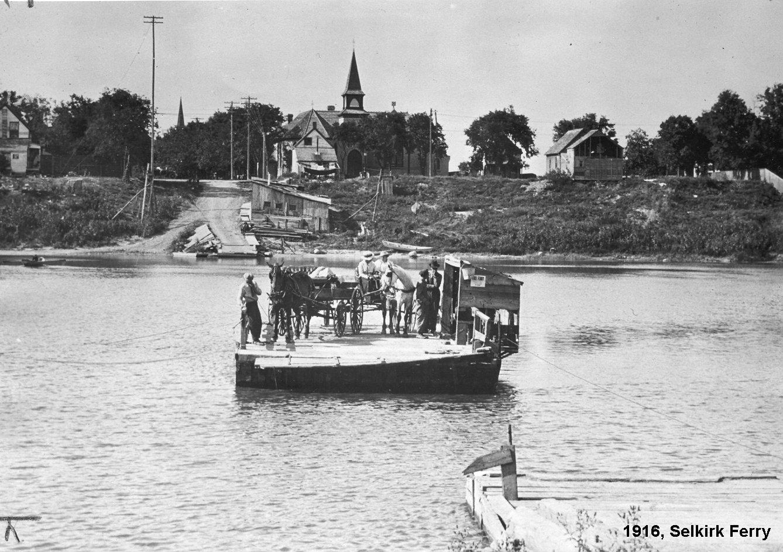 1916 Selkirk ferry