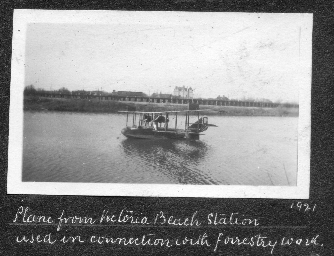 1921 Float Plane on Red River