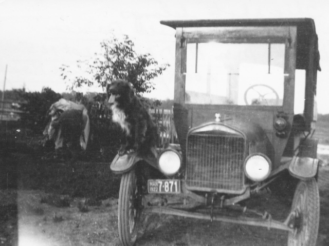 1918 George Donald and Bus