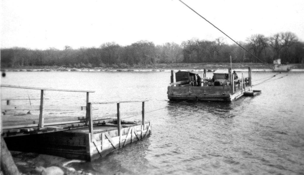 1923 Selkirk ferry