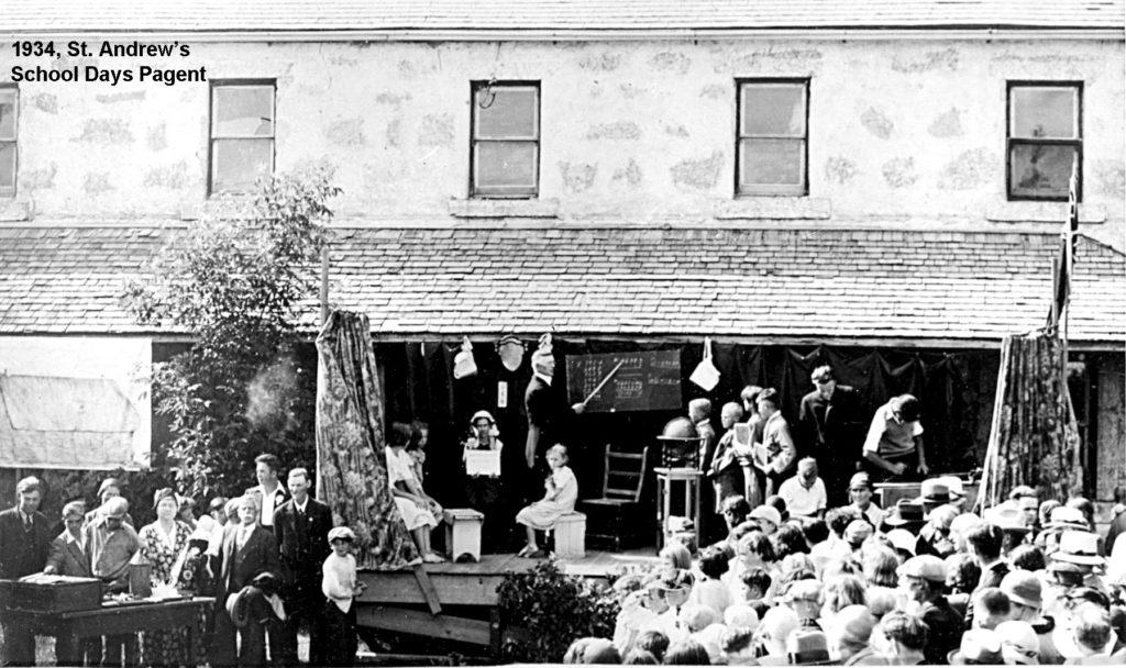 1934 School Days Pageant