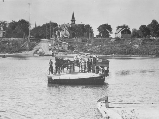 393 Selkirk ferry, 1916