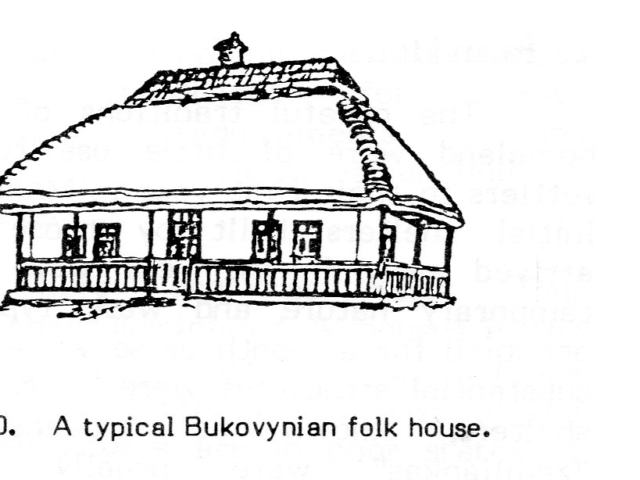 A Typical Bukovynian House