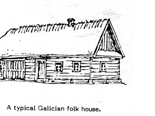 A Typical Galician Folk House