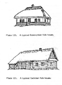 Bukovynian and Galician Style houses