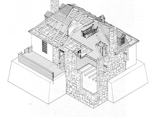 Bunn House Sketch
