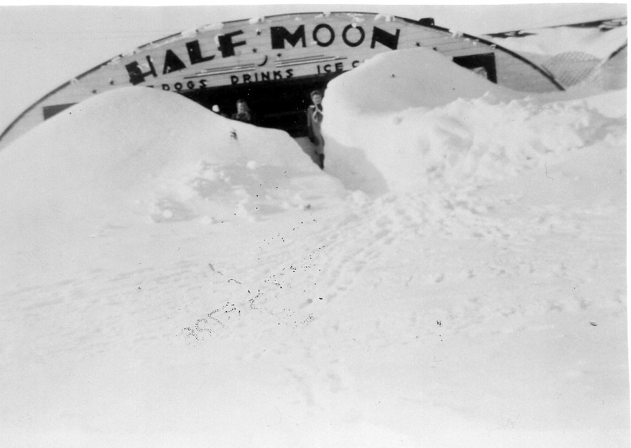Half Moon in big storm 1966