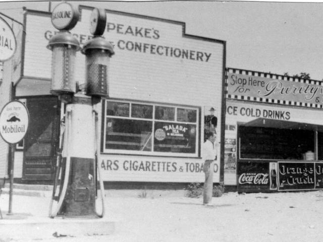 Mike Peake's store - J. Reutcke