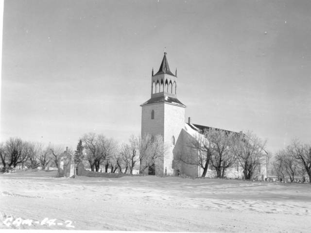 St. Andrews in winter, 1952