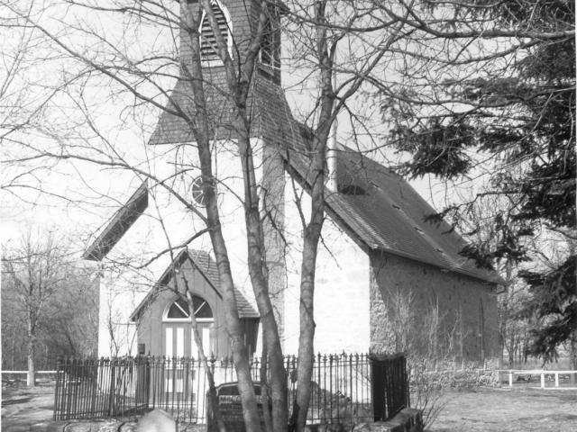 Little Britain United Church, 1970.