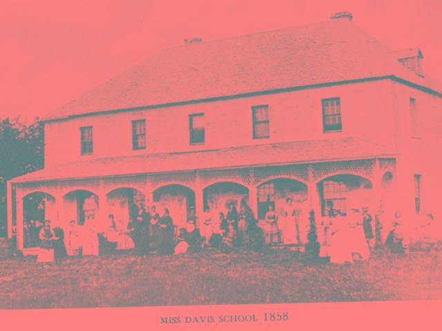 Davis School 1858