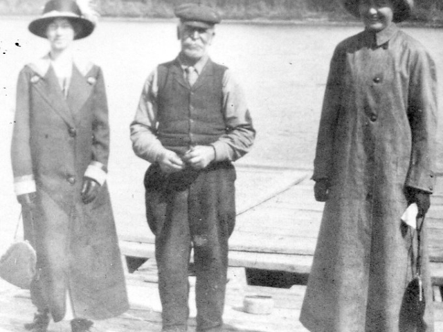 Eva Baldwin, Ferryman, Lily Larson