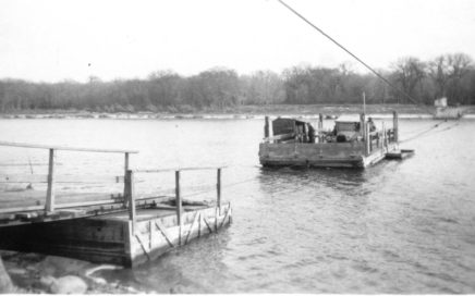 Ferry Selkirk ferry, Nov 1923