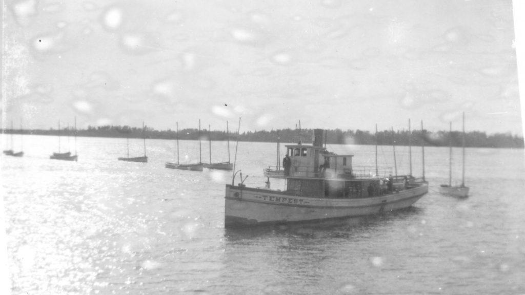 Fishing fleet, Selkirk, 1930c