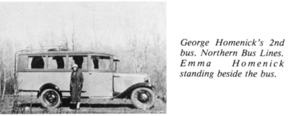 George Homenick's  2nd bus