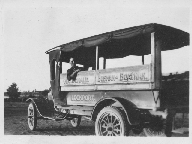 George Donald Bus Lockport