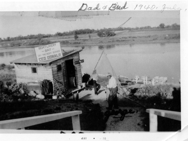 George Donald rented out fishing boats from 1910 to 1953 at Lockport