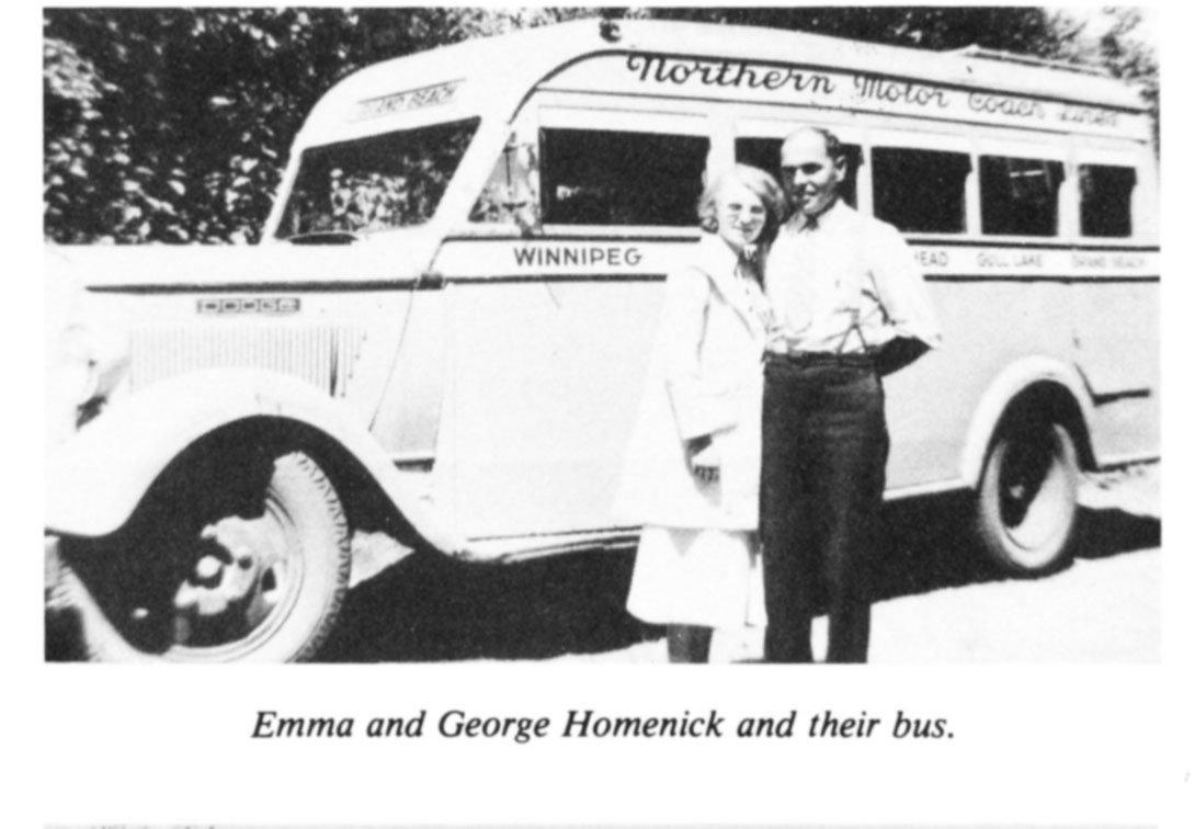 George and Emma Homenick