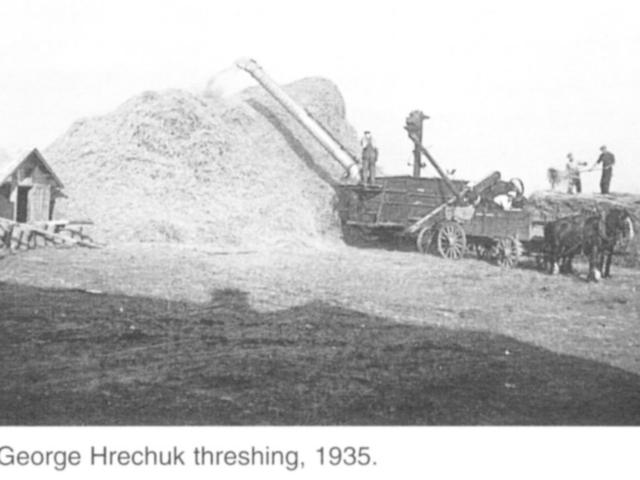 Harvesting - Hrechuk 1935