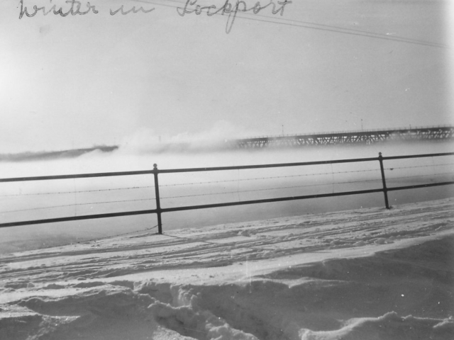 Winter in Lockport