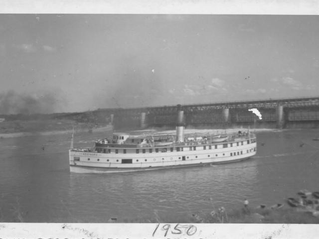 Boat Lockport 1950