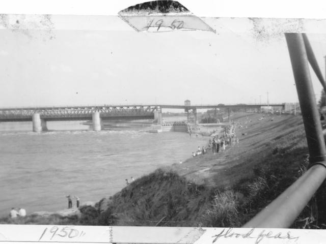 Spring 1950 flood fears