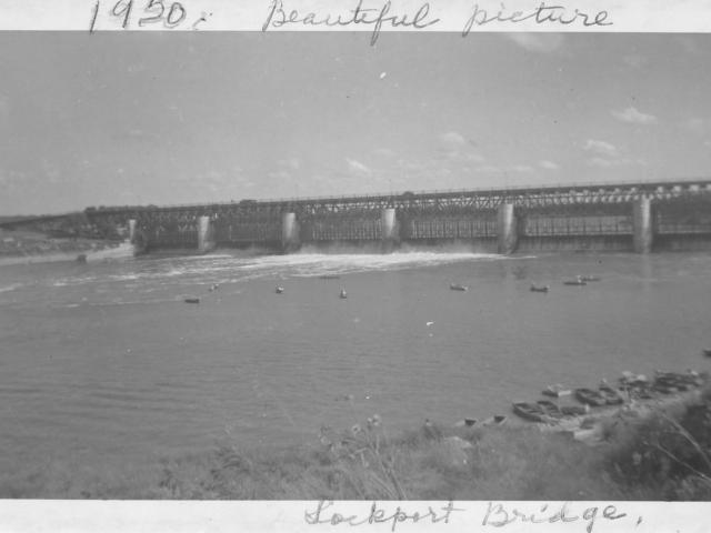 Lockport Bridge 1950
