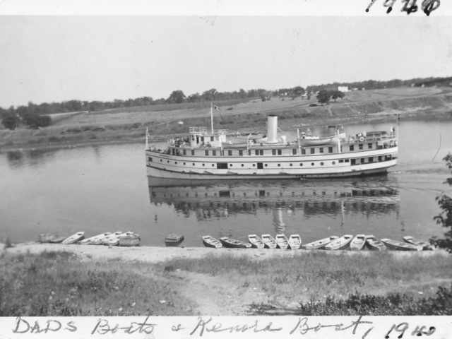 George Donald's boats and SS Keenora