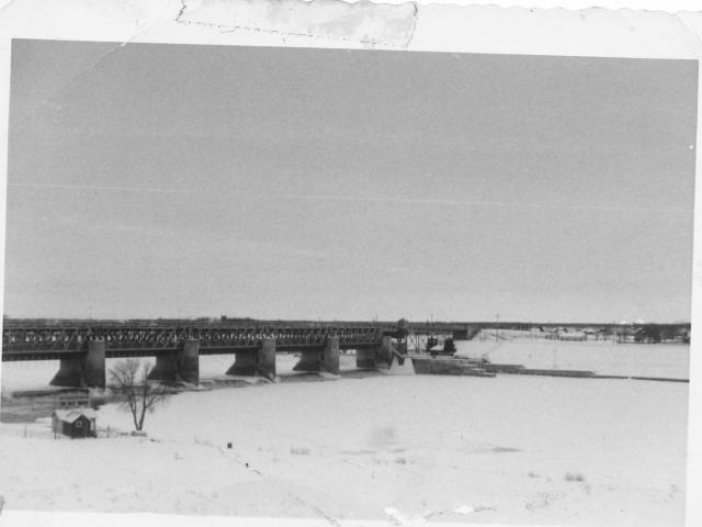 Winter in Lockport 1957
