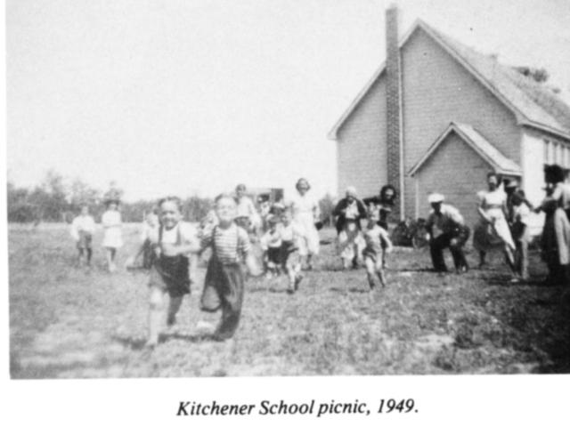 Kitchener school picnic 1949