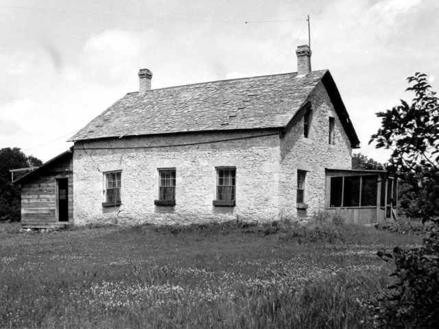 Little Britain United church rectory in July 1938.