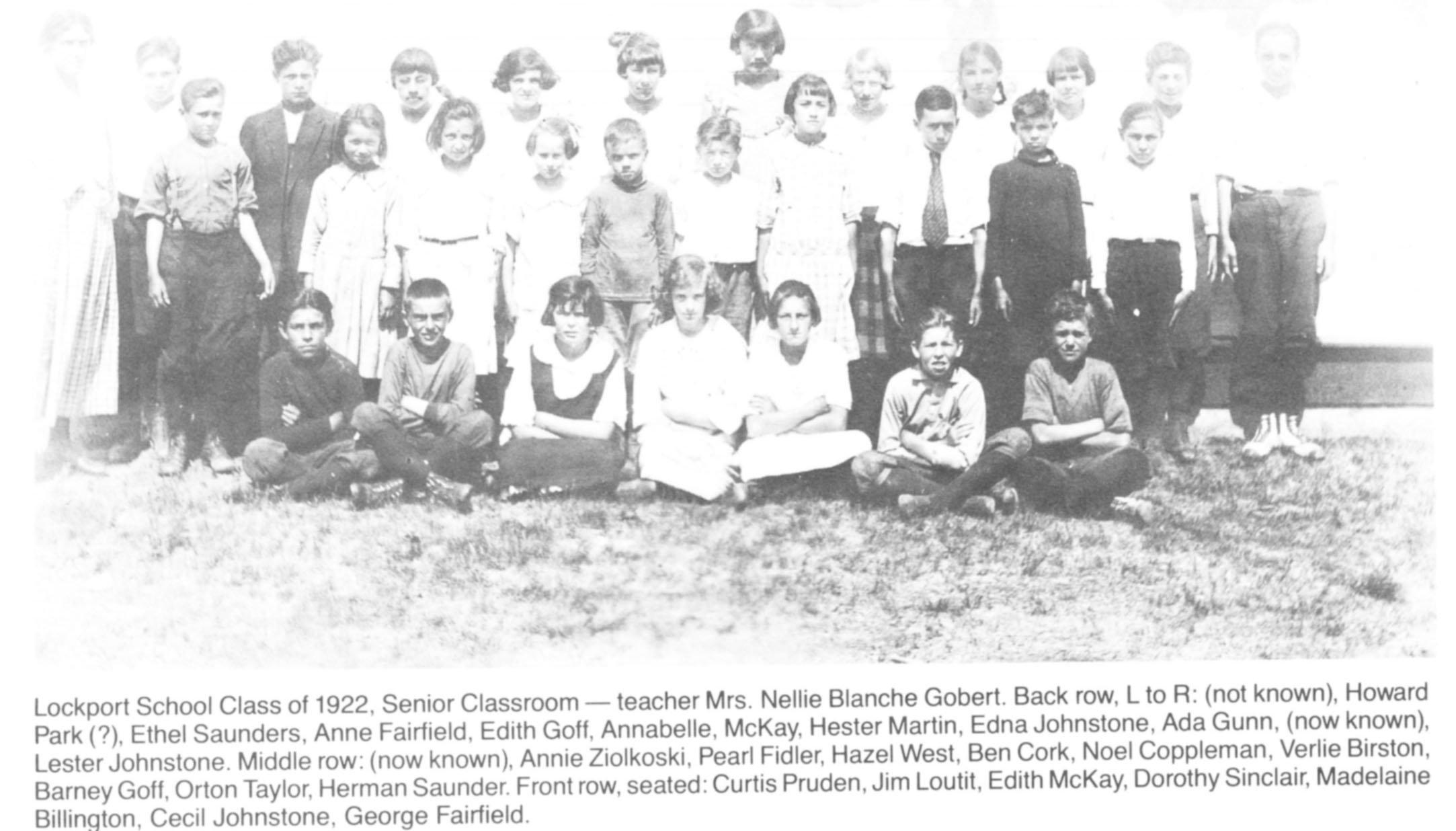 Lockport School 1922