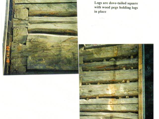 Malazdrewicz Log house 4745 Henderson Hwy