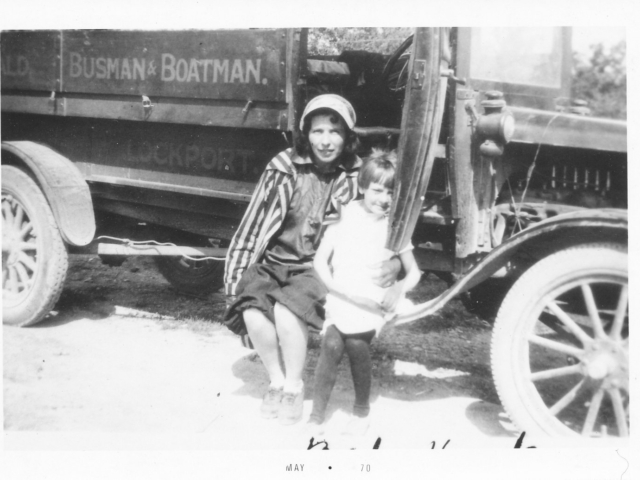 Mabel Donald and Bus