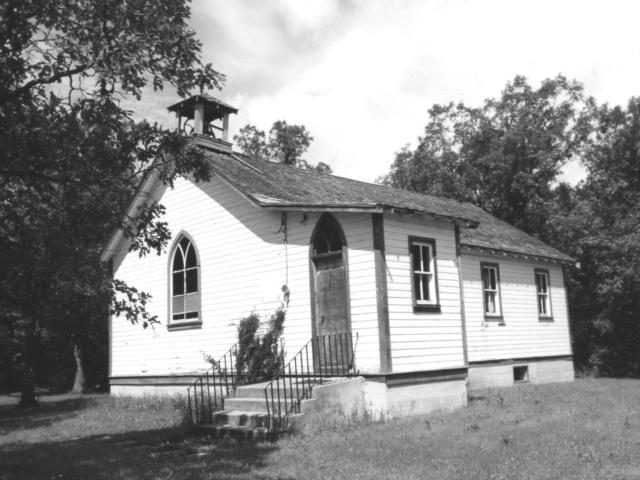 MacKenzie Presbyterina Church on Henderson Hwy. 1930